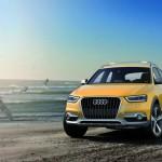 Die Frontansicht des Audi Q3 jinlong yufeng