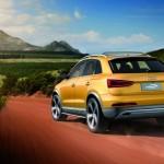 Die Heckansicht des Audi Q3 jinlong yufeng
