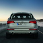 Heck des neuen Audi Q5