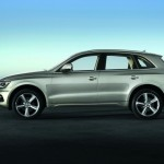 2012 Audi Q5 in der Seitenansicht