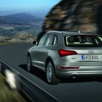 Der 2012-er Audi Q5 in der Heckansicht