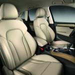 Der Innenraum des Audi Q5 2012