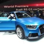 Audi RS Q3 in Blau mit über 300 PS