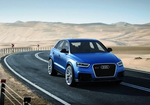 Das Audi RS Q3 Concept soll in 5,2 sekunden auf 100 km/h sprinten