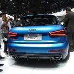 Die Heckansicht der Audi-Studie RS Q3