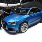 Audi RS Q3 Concept in der Seitenansicht - peking 2012