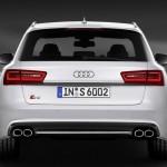 Die Heckpartie des Audi S6 Avant
