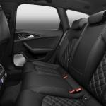 Der Innenraum des Audi S6 - Sitze