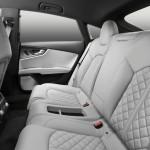 Audi S7 Sportback Fond - Hier dürfen die Passagiere Platz nehmen