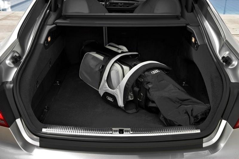 Der Kofferraum des Audi S7 Sportback