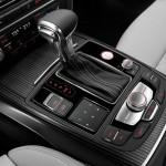 Die Mittelkonsole des Audi S7 Sportback