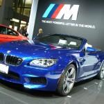 Das BMW M6 Cabriolet auf der New Yorker Messe 2012