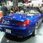 BMW M6 Cabrio in der Heckansicht (New York)
