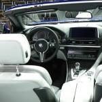 BMW M6 Cabriolet auf der New York Autoshow 2012 - Der Innenraum