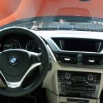 Der Innenraum des BMW X1 - Cockpit