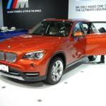 BMWs Kompakt-SUV X1 auf der New York Messe 2012