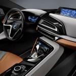 Armaturenbrett des BMW i8 Concept Spyder
