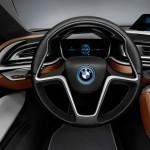 Cockpit des BMW i8 Concept Spyder