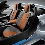 Der Innenraum des BMW i8 Concept Spyder