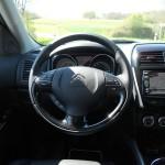 Cockpit des SUVs Citroen C4 Aircross