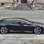 Citroen Concept Car Numéro 9 in der Seitenansicht