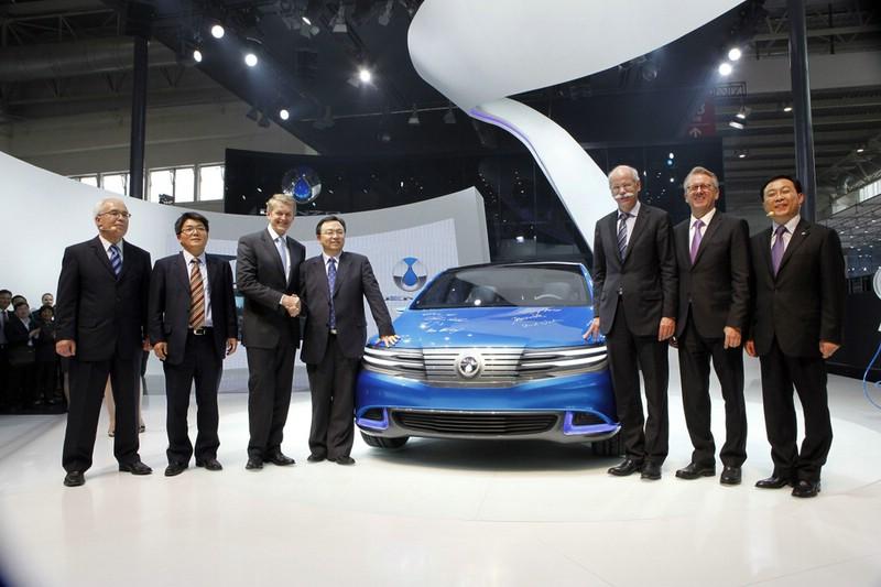 Denza Prototyp Präsentation auf der Auto China 2012