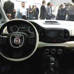 Das Cockpit des neuen Fiat 500L