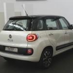 Fiat 500L in der Heckansicht