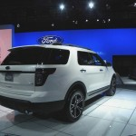 Ford Explorer Sport auf der New York Auto Show (Heckansicht)