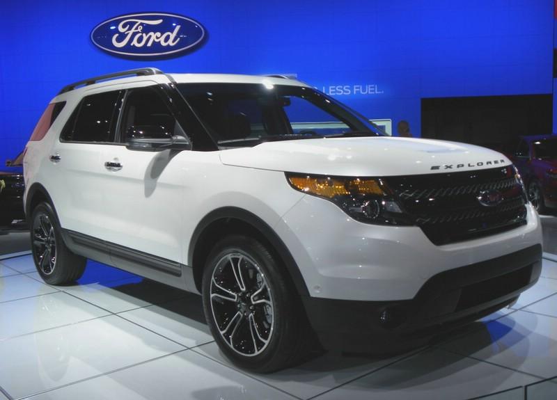 Ford zeigt in New York ein neues Topmodell, den Explorer Sport