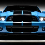 Der Grill des Ford Shelby GT500
