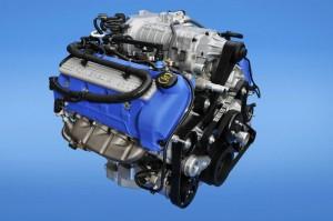 Der 672 PS starke Motor des Ford Shelby GT500