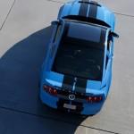 Ford Shelby GT500 aus der Vogelperspektive