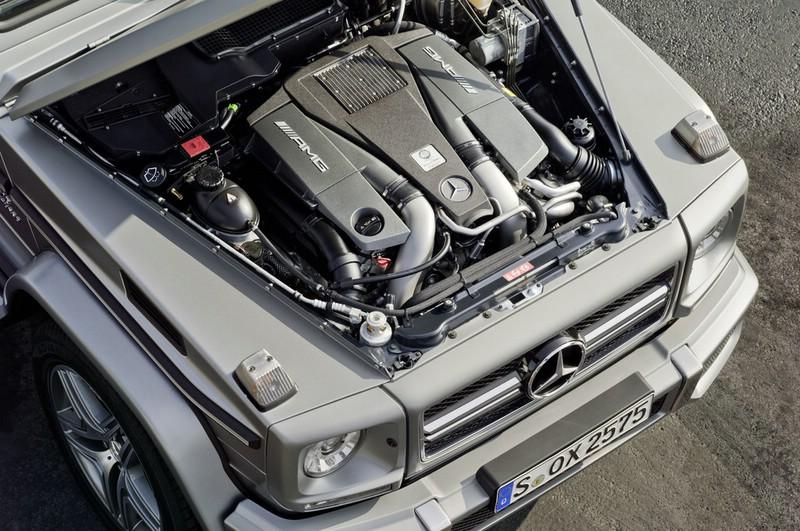 Galerie: G 63 AMG Motor | Bilder und Fotos