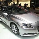 Hybridauto Honda CR-Z auf einer Messe