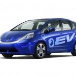 Honda Fit EV Concept hat ein Hybridantrieb