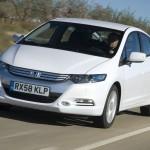 Hybrid-Modell Honda Insight in der Frontansicht