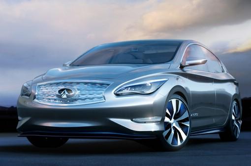 Infinity Le Concept mit Elektroantrieb soll 2014 kommen