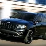 Jeep Compass in der neuen Austattungsvariante Black Edition