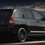 Jeep Compass in der Ausstattungsvariante Black Edition