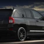 Jeep Compass in der Ausstattungsvariante Black Edition