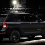 Jeep Compass in der Ausstattung Black Edition
