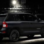 Jeep Compass in der Ausstattung Black Edition