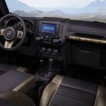 Das Interieur des Jeep Wrangler Dragon