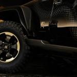 Die 18 Zoll großen Räder des Jeep Wrangler Dragon