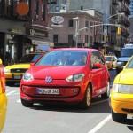 Kleinstwagen VW up auf den Strassen von New York