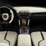 Das Armaturenbrett des Lamborghini Urus