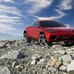 Lamborghinis Konzeptfahrzeug Urus in der Frontansicht