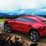 Der Lamborghini Urus in der Seitenansicht