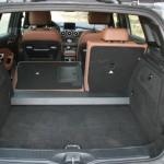 Der Kofferraum des Mercedes-Benz B 200 CDI